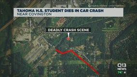 Tahoma high school student dies in car crash near Covington