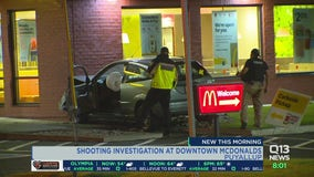 Shooting investigation at Puyallup McDonald's
