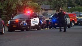 2 young children shot in yard in Portland suburb