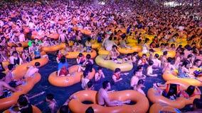 Wuhan water park hosts massive pool party in China's coronavirus ground zero
