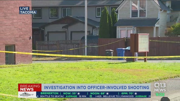 Tacoma K9 killed in gunfight with homicide suspect
