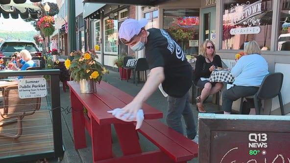 Sumner small businesses carve out parklets