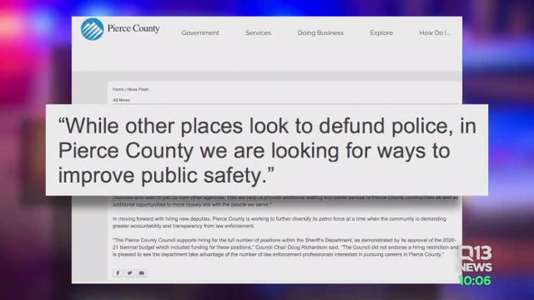 Pierce County looks to hire two dozen deputies