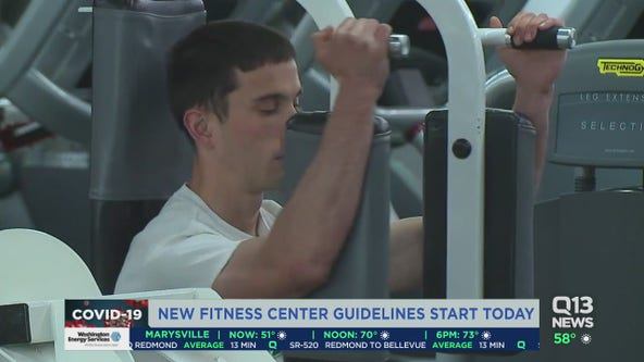 Gyms, fitness centers face new guidelines as large gyms reopen for the first time in months