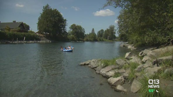 Small community in King County prepares for large crowds, garbage during hot weekend