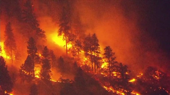 Residents told to evacuate as wildfire in Columbia River Gorge grows