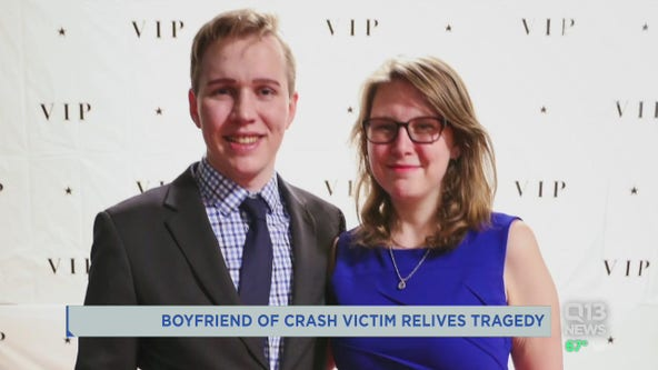 'That's the last time I saw her': Boyfriend of crash victim relives tragedy