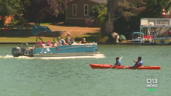 Potential big crowds expected at area lakes as temperatures soar above 90 this weekend