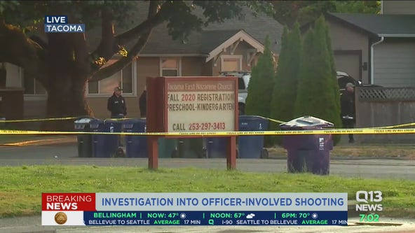 Police shooting in Tacoma