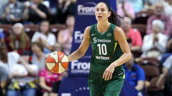 Sue Bird sidelined with bone bruise in her left knee