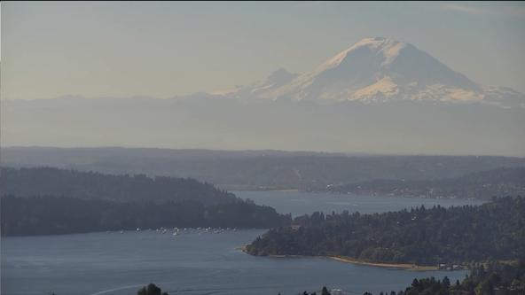 Sunny and warm Sunday for Western Washington