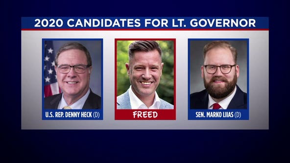 The Divide: Republican stages write-in bid for lieutenant governor
