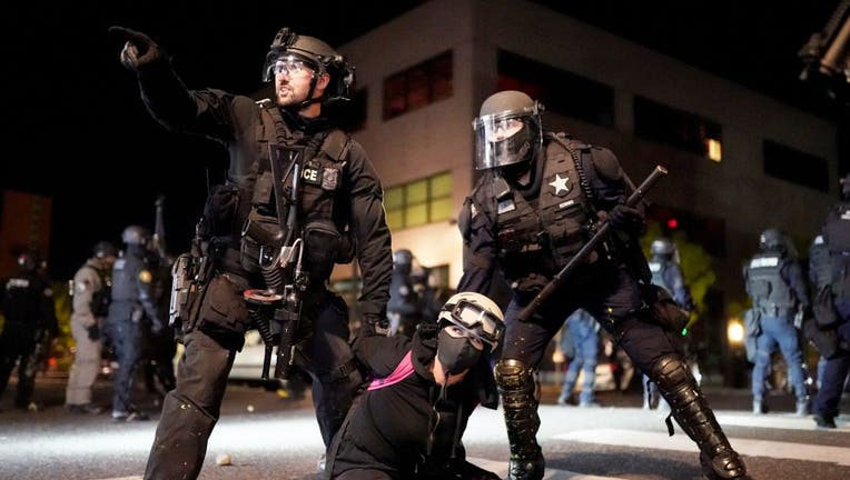 Portland Anti-Police Protests Grow Larger After Lull