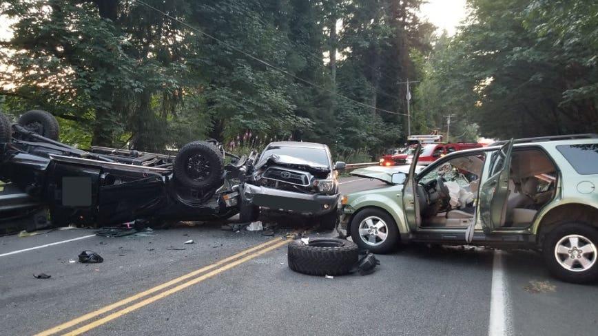 One dead in fatal 3-car collision in Covington
