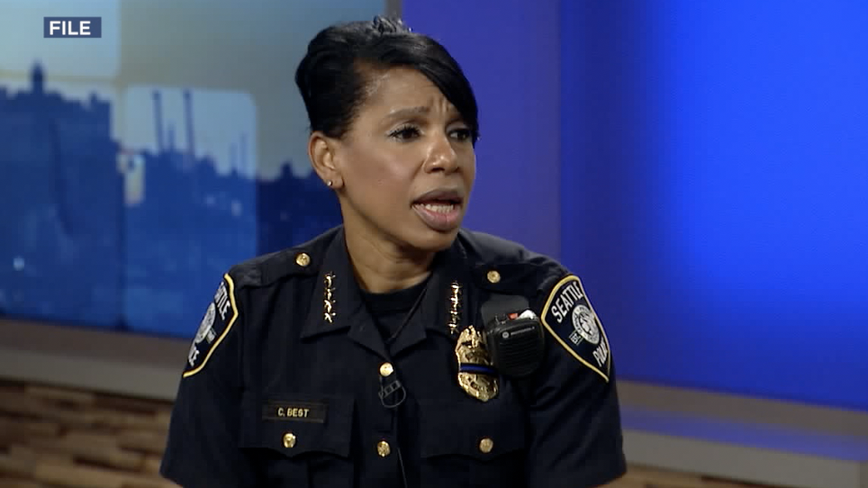 Groups calling for defunding of SPD respond to Chief Carmen Best's retirement
