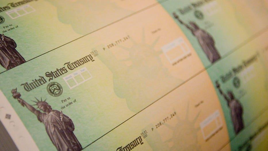 a507a5ba-Economic Stimulus Package Tax Rebate Checks Printed