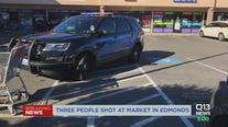 Three people shot at Edmonds market