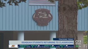 Issaquah students returning to classrooms