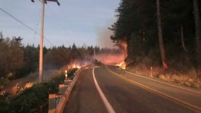 Extended closure of SR 410 east of Enumclaw due to wildfire