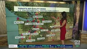 Smoky weekend, much needed rain next week