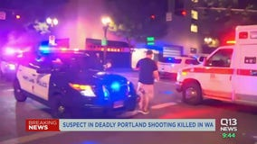 Suspect in Portland death killed by investigators