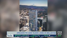 Amazon to add 10,000 more jobs to Bellevue, Washingon