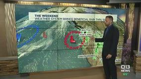 Rain brings relief from smoky skies in Washington