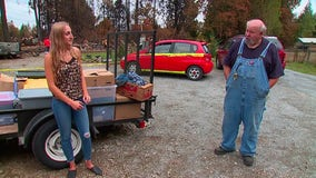 Driver on the Street features woman providing relief to those affected by wildfires