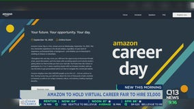 Amazon to hold virtual career fair