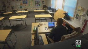 First day of remote learning at Bethel School District