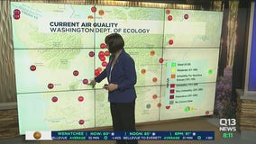 Dangerous air quality as smoke from fires in California and Oregon pours into Western Washington