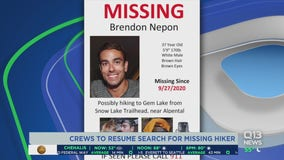 Crews searching for missing hiker near Snoqualmie Pass