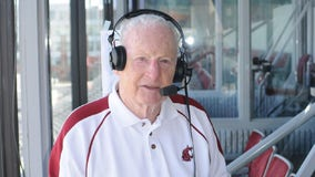 Bob Robertson, the legendary voice of WSU Cougars sports, dies at 91