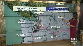 Air quality alert extended through Thursday in Washington state