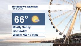 Sunny & mild Sunday, Summer-like weather next week