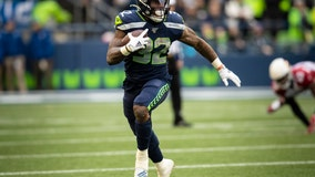 Seahawks' Carson trying to focus on season, not contract