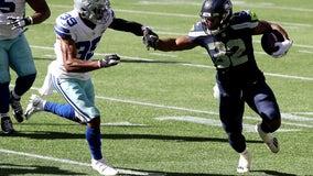 Seahawks' Chris Carson thankful injury vs. Cowboys wasn't serious