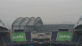 Hazardous smoky air will choke NW skies into Monday