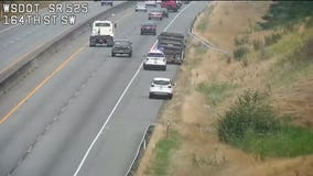 Dump truck stolen in Seattle leads to chase on I-5 into Snohomish County