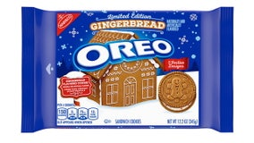 Oreo releasing 'first-ever' gingerbread-flavored cookie for holiday season