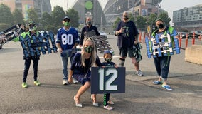 Blue Friday: Nothing can stop a superfan from supporting the Seahawks