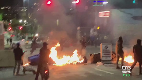 SPD Chief: 'None of this behavior is acceptable' after another weekend of destruction