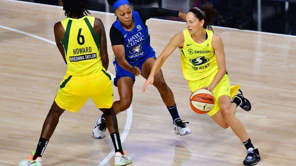 Stewart, Bird help Seattle Storm sweep Lynx, advance to WNBA Finals