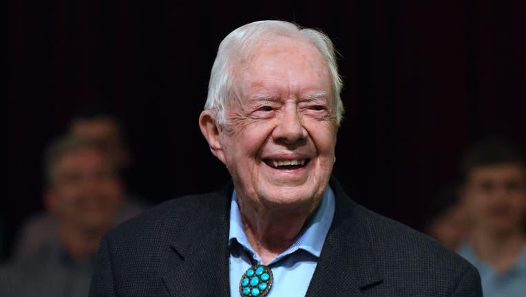 dec81868-Jimmy Carter Teaches Sunday School in Plains, Georgia