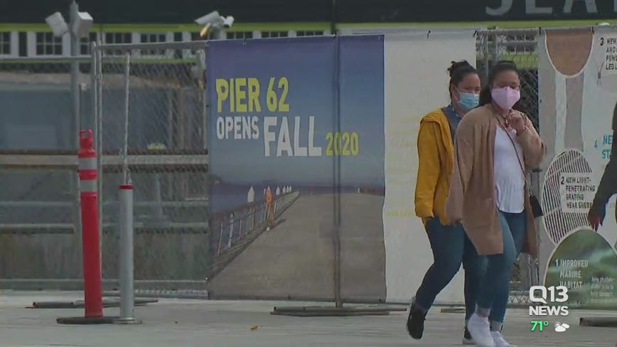 Pier 57, iconic Seattle landmarks could be closed through holiday season