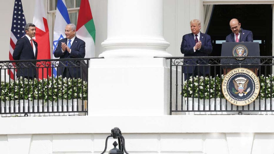 54f11d81-President Trump Hosts Abraham Accords Signing Ceremony On White House South Lawn