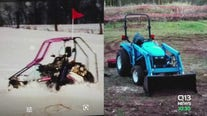 Theft of tractor, go-kart takes emotional toll on man coping with the sudden death of his son