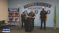 Seattle Police announce arrests related to arson, bat assault on officer