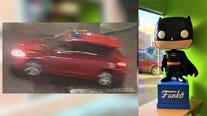 Video shows villains and vehicle in theft of Batman from Everett Comics