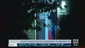 Death investigation underway in Bremerton